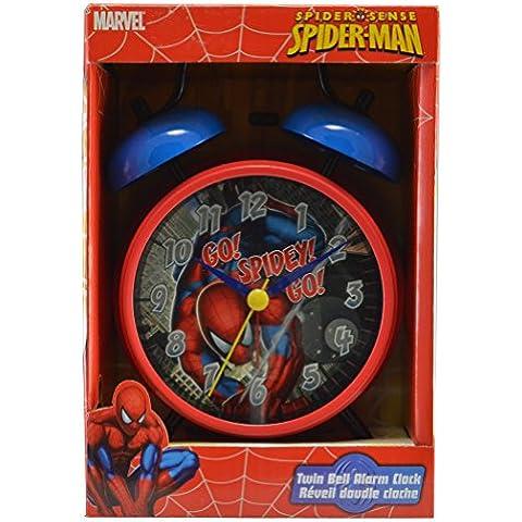 Spiderman-Orologio sveglia a doppia campana Marvel Spider Sense-2