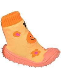 a1fa55ab2a99b Baby Zapatillas Baby Calcetines ABS Suela de Goma Antideslizante Zapatos de Bebé  Talla 19 – 23