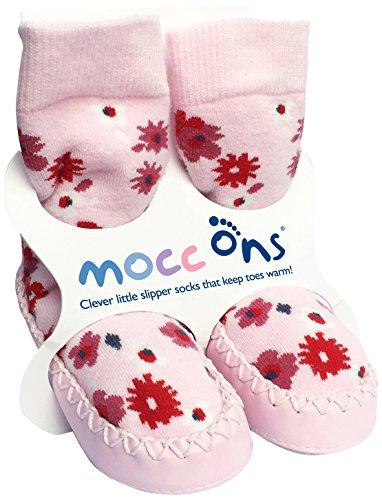Mocc Ons 91283.0 Hüttenschuhe, Floral Ditsy, 18-24 m, mehrfarbig