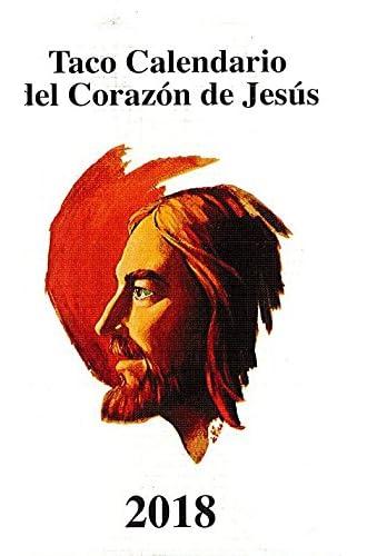 Calendario 2018. Corazón De Jesús