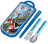 Chopsticks spoon fork Sliding trio set Mario Kart 8 TCS1A by Skater