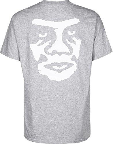 Obey The Creeper T-Shirt Grau Meliert