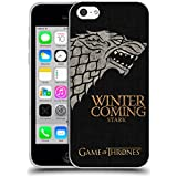 Official HBO Game Of Thrones Stark House Mottos Soft Gel Case for Apple iPhone 5c