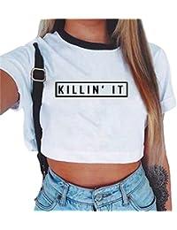 Suchergebnis auf für: bauchfrei tops T Shirts