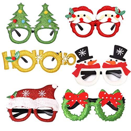 Gafas de fiesta para #Navidad (26 diseños) por sólo 2€ con el #código: V9OCQQLI