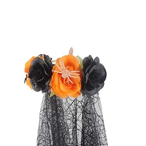 Halloween headband WMING Nueva Bruja Maquillaje Cabeza