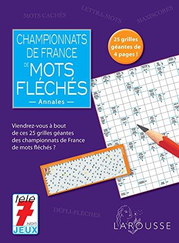 Championnats de France des mots flchs - annales