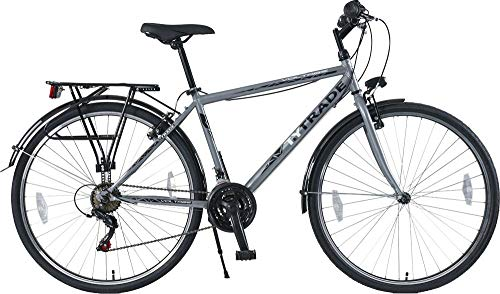 28 Zoll Jungen Herren City Jugend CITYBIKE Fahrrad Herrenfahrrad KINDERFAHRRAD CITYFAHRRAD Rad Bike 21 Gang Voltage Man GRAU TYT19-052