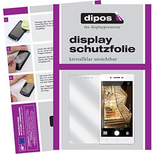 dipos I 6X Schutzfolie klar passend für Oppo Neo 7 Folie Bildschirmschutzfolie