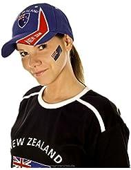 Neuseeland Tattoo Fahne 5er Fan Set - New Zealand Flag