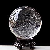 Reiner Naturstein poliert viel Glück Kristallkugel Schreibtischdekoration Durchmesser 9,35 cm
