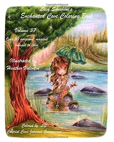 lacy-sunshines-enchanted-cove-coloring-book-fantasy-sprites-mermaids-and-more-volume-37-enchanting-a
