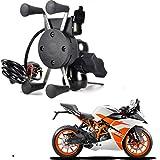 RWT Mobile Phone Holder with USB Charger Bike Mobile Holder for KTM RC