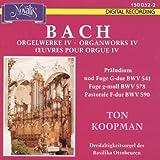 Johann Sebastian Bach - Orgelwerke - Vol. 4