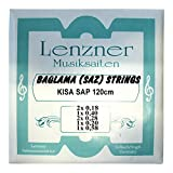Lenzner 2910 | Saiten für KISA SAP Baglama | SAZ-Saiten | NEU