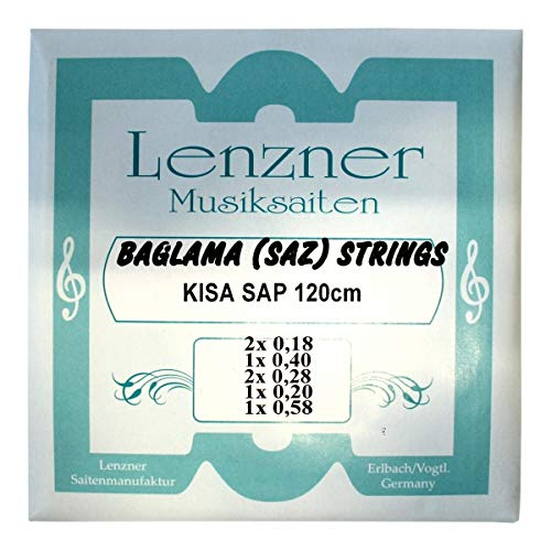 Lenzner 2910   Saiten für KISA SAP Baglama   SAZ-Saiten   NEU