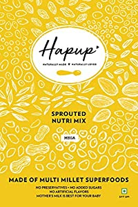 Hapup Sprouted Nutri Mix - 500gm