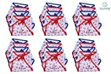 #8: Nappy for New Born Baby - Set of 18 Pcs / Cotton Cloth Diapers / Langot for Babies # 0-6 months # Double Layer Nappies # U Shaped # Washable and Reusable # Pack of 18 by Dolphers