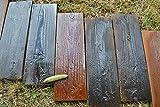 2stampi vecchio assi di legno cemento muffa Garden Stepping Stone Path patio # S05