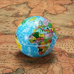 60mm de Carte du monde mousse Earth Globe Géographie boule