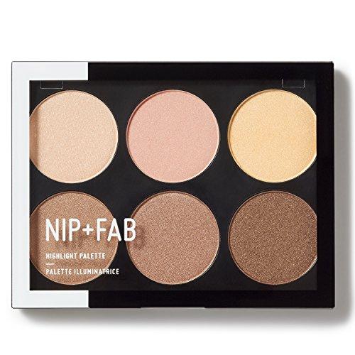 Nip + Fab Highlight Palette, STROBOSCOPIC 01