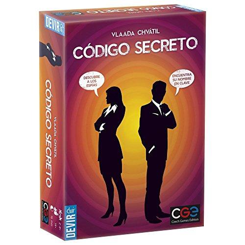 DEVIR - CODIGO SECRETO  JUEGO DE MESA (BGCOSE)