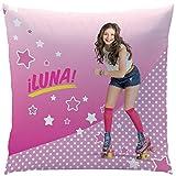 Disney Soy Luna 044280 Roller Kissen, Polyester, rosa, 40 x 40 cm