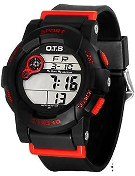 Electronic watch wasserdicht nig