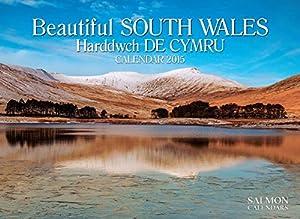 Beautiful South Wales Harddwch De Cymru Large Wall Calendar 2015