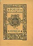 Myricae. Diciassettesima edizione.