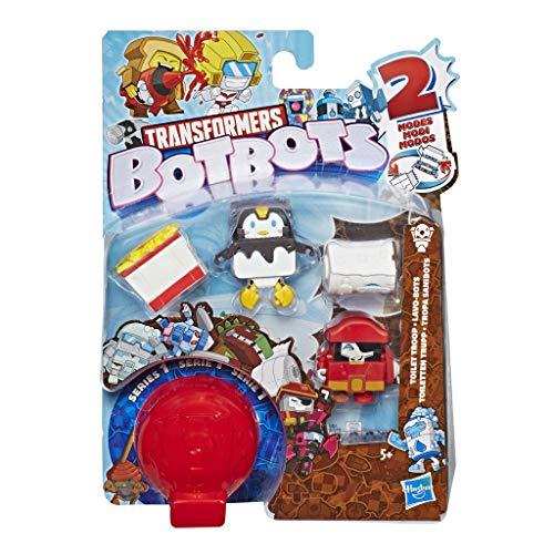 Hasbro Transformers E3486EU4 Botbots 5er Pack (zufällige Farbauswahl), lustige Sammelfiguren, Multicolor (Schritt 2 Toy Box)