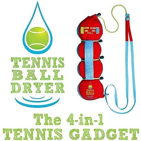 Pelota de tenis Secador - 4 - en-1 de Tenis Accesorios - votada como la
