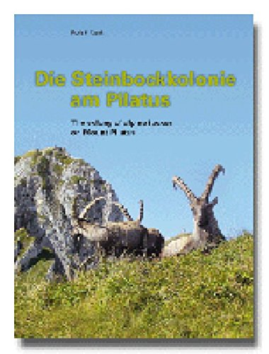 Die Steinbockkolonie am Pilatus /The colony of alpine ibexes on Mount Pilatus -