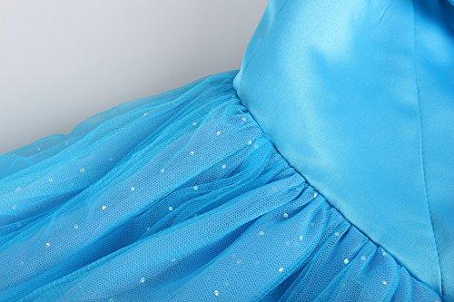 ReliBeauty - Difraces Princesa Cenicienta Mariposas Maxi Fancy Vestido para niñas