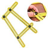 Angle-izer Template Tool Four-Sided Ruler Mechanism Slides Measuring Instrument