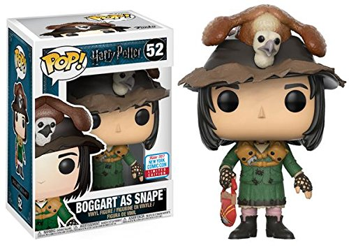 Funko POP Harry Potter -  Boggart como Severus Snape - Figura Exclusiva