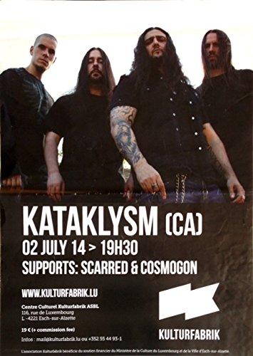"""Kataklysm, 60 x 80 cm, motivo: manifesto/Poster """""""