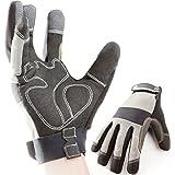 Premium Gants de travail, montage, mécanique, gants, gants de protection, gants de sécurité