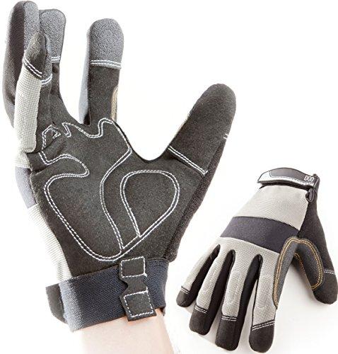 Guanti premium da lavoro, da montaggio e da meccanici, guanti protettivi e di sicurezza (l)