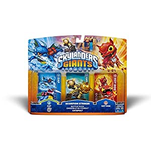 Skylanders GIANTS – Battle Pack 2: Zap, Hot Dog, Scorpion Striker Catapult (alle Systeme)