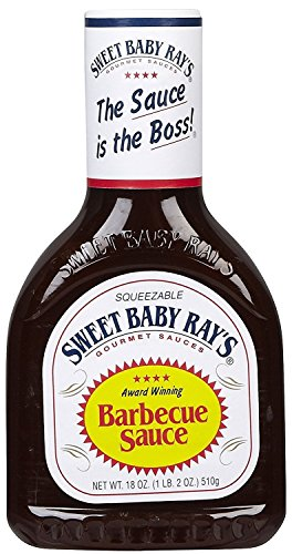 Sweet Baby Rays, Barbecue Sauce 510 g (Pack of 2)