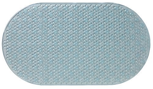 Ginsey Aquatouch Badematte, oval, Blau (Ginsey Badematte)