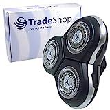 Scherkopf Rasierkopf Ersatzscherkopf mit Schutzkappe Abdeckung für Philips SensoTouch 3D RQ1265CC RQ1270 RQ1275 RQ1275CC RQ1280 RQ1280CC RQ1280X RQ1285 RQ1285CC RQ1286 RQ1286CC RQ1290 RQ1290CC