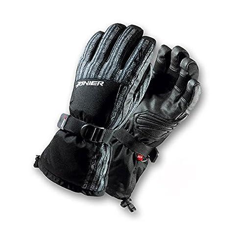 Zanier Gap ZX Snowboard Gloves Kids–Black