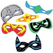 Foam Superhero Masks