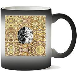 Taza de café fractal