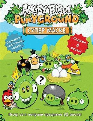 Angry Birds - Super maske