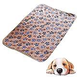 Westeng 1 Stück Hundematte Weiche Warme Samt Hundedecke für Hund & Katze, waschbar, hygienisch und Rutschfest, 60 x 40 cm