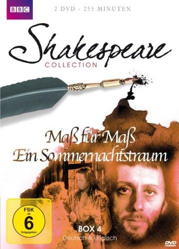 Shakespeare Collection, Vol. 4: Maß für Maß/Ein Sommernachtstraum (2 DVDs)