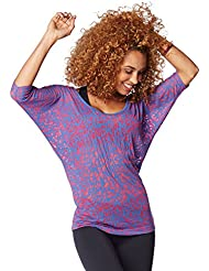 Zumba Fitness Funky Burnout - Camiseta para mujer